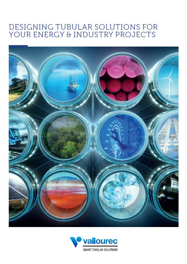 Cover commercial brochure Vallourec