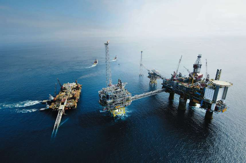 Rigs offshore